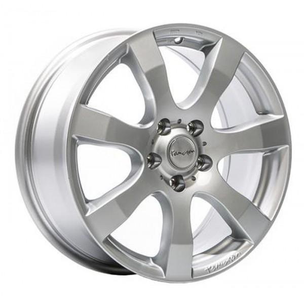 Диск литой R16 Tomason TN3F Silber Lackiert 6,5x16 6x130