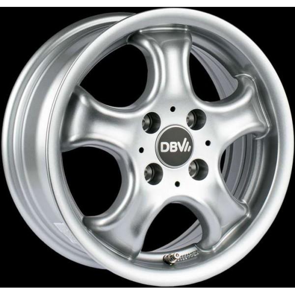 Диск литой R13 DBV Tahiti Silber Metallic 5,5x13 4x100