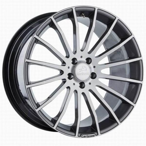 Диск литой R18 Carlsson 1/16 RS DE Dunkel Grau 8,5x18 5x112