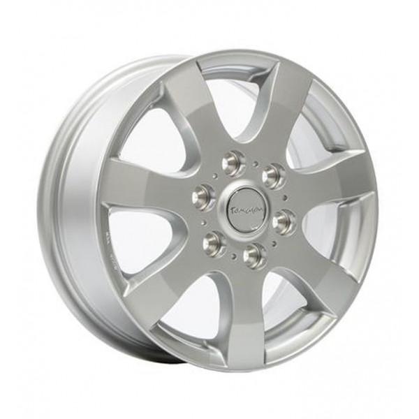 Диск литой R16 Tomason TN3F Silber Lackiert 6,5x16 5x120
