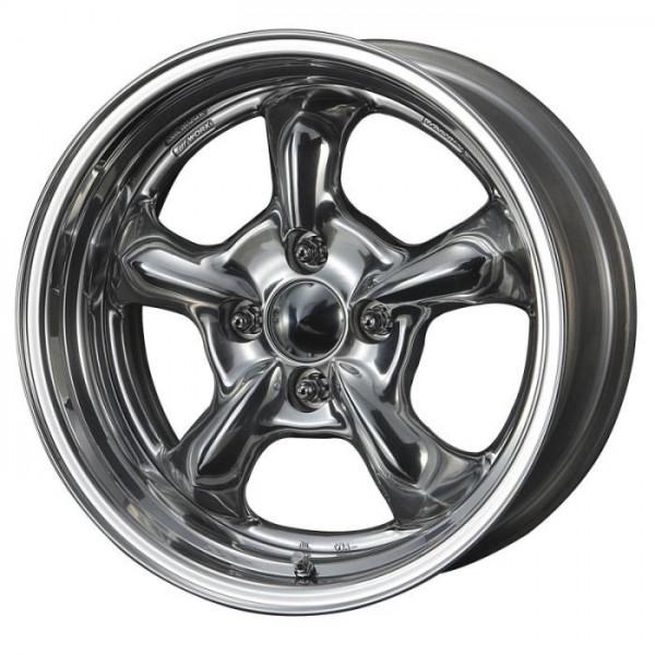 Диск литой R17 Work Wheels Goocars Hemi Silber 8x17 4x100