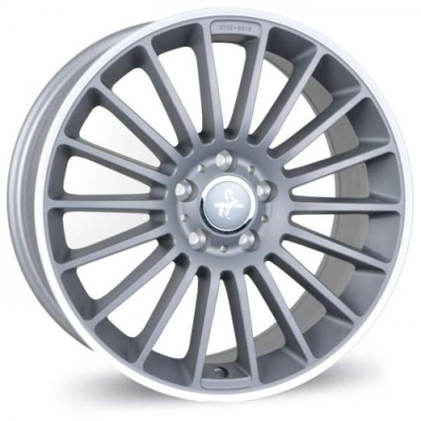 Диск литой R19 Keskin KT15 Speed Titan Grau blende Poliert 8,5x19 5x120