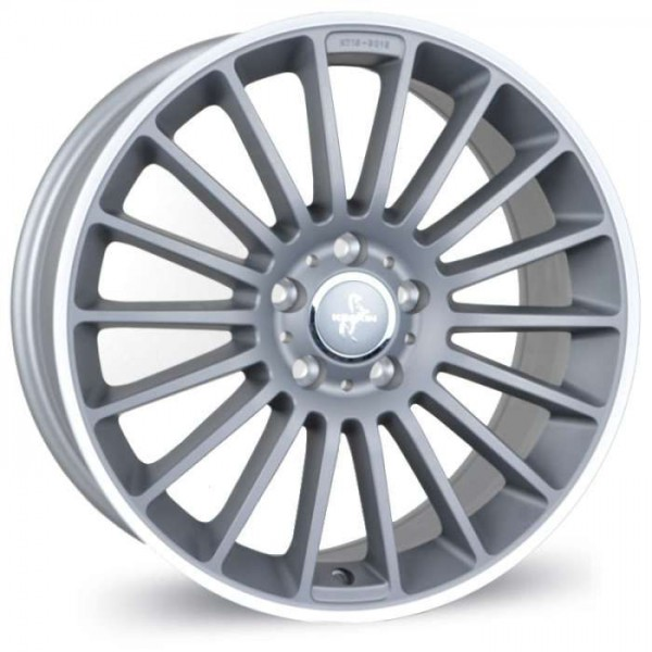 Диск литой R19 Keskin KT15 Speed Titan Grau blende Poliert 9,5x19 5x112
