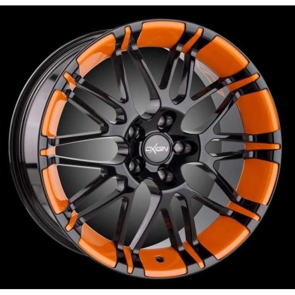 Диск литой R17 Oxigin 14 Oxrock Folierung Orange 7,5x17 5x112
